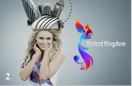 Best eurovision postcards
