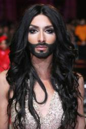 Conchita is a thing of beauty, but she's also bizarre.