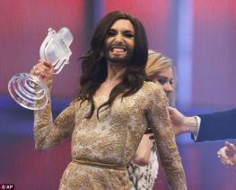 If you don't have proper weights, why not use your Eurovision trophy to tone those arms?