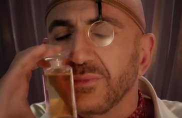 If the insanity of thinking I Didn't Know is a decent song is any indication, it's not perfume that Serhat's in the habit of sniffing...